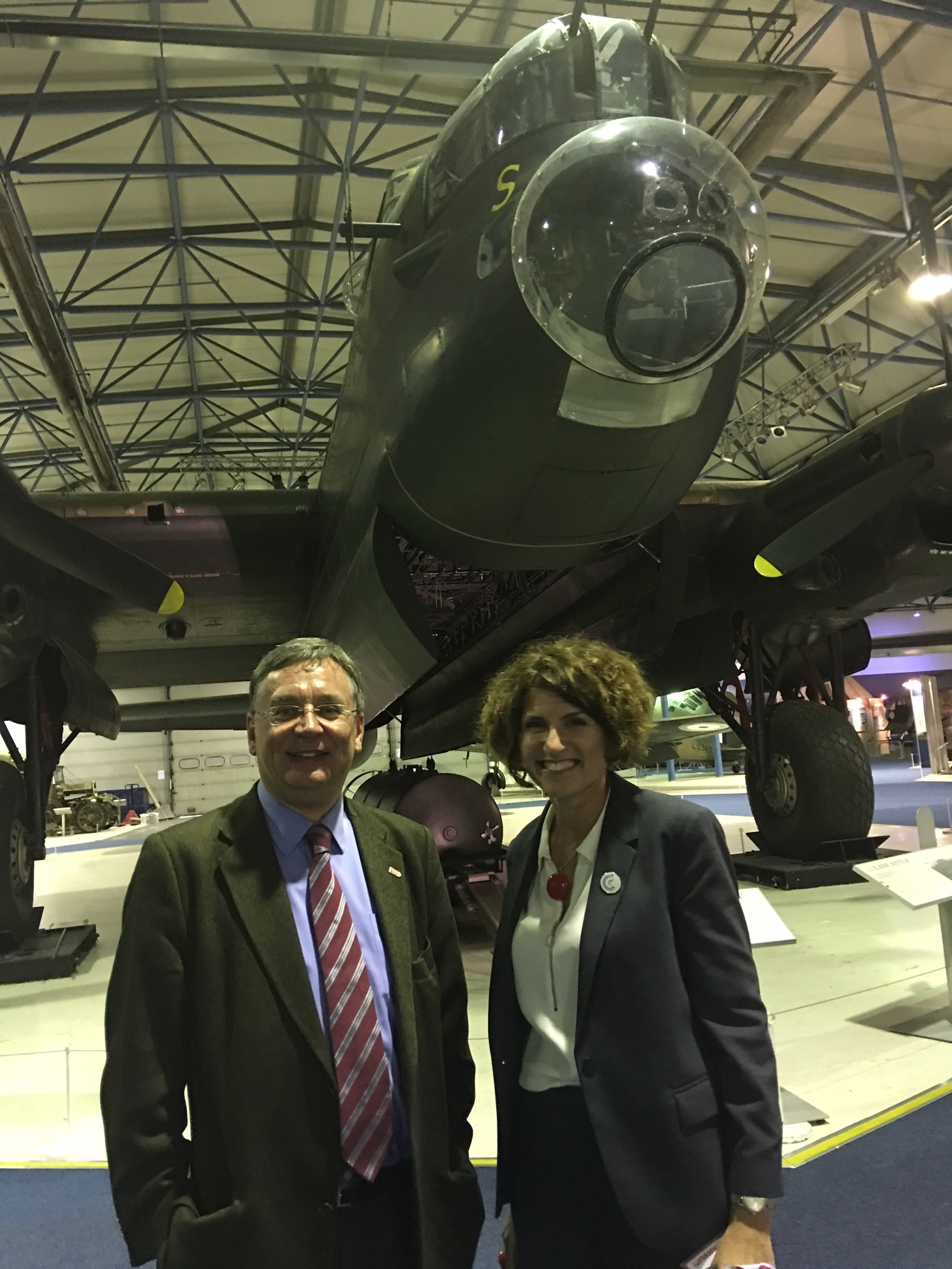 Andrew Dismore AM and Maggie Appleton MBE