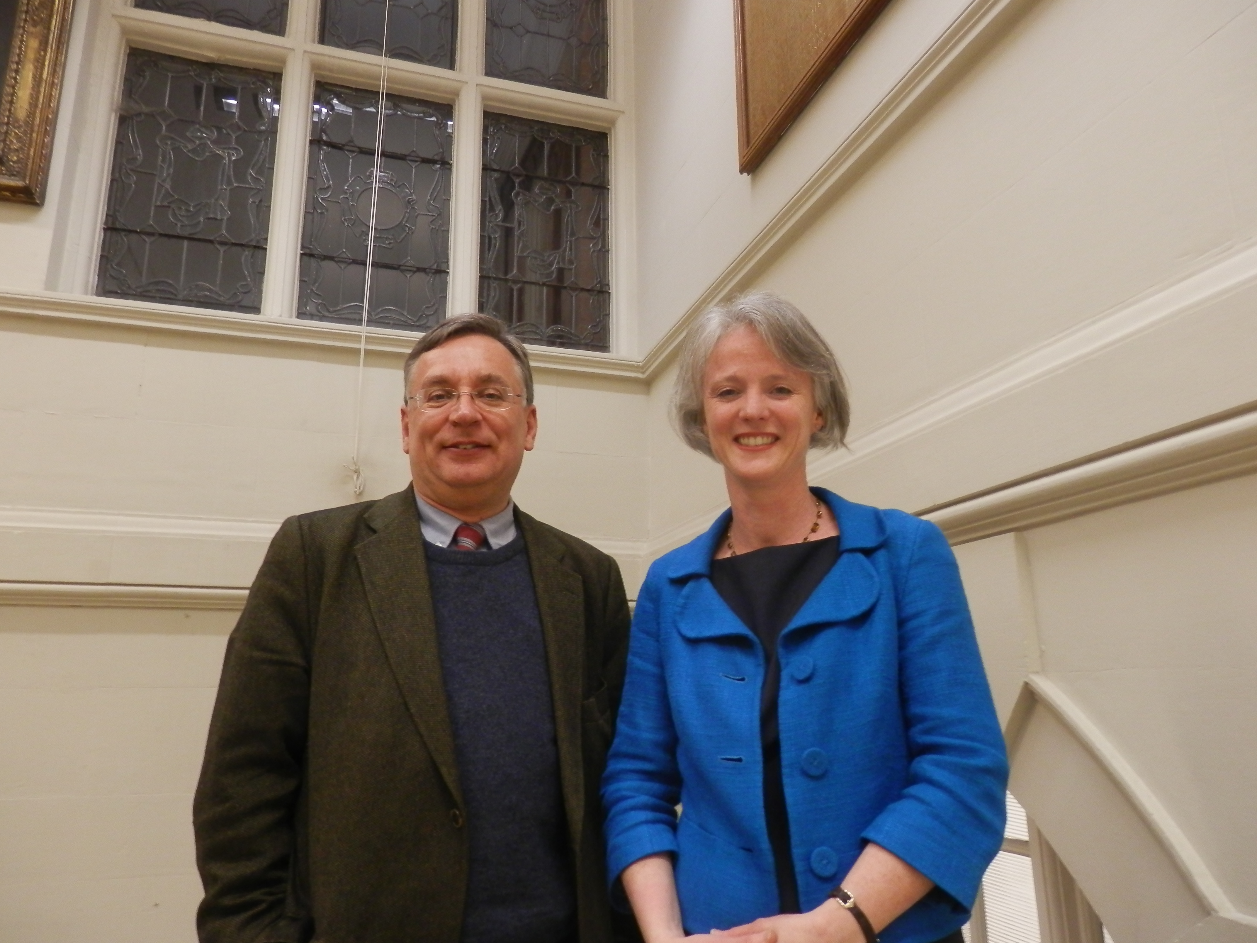 Andrew Dismore AM and Sophie Linden