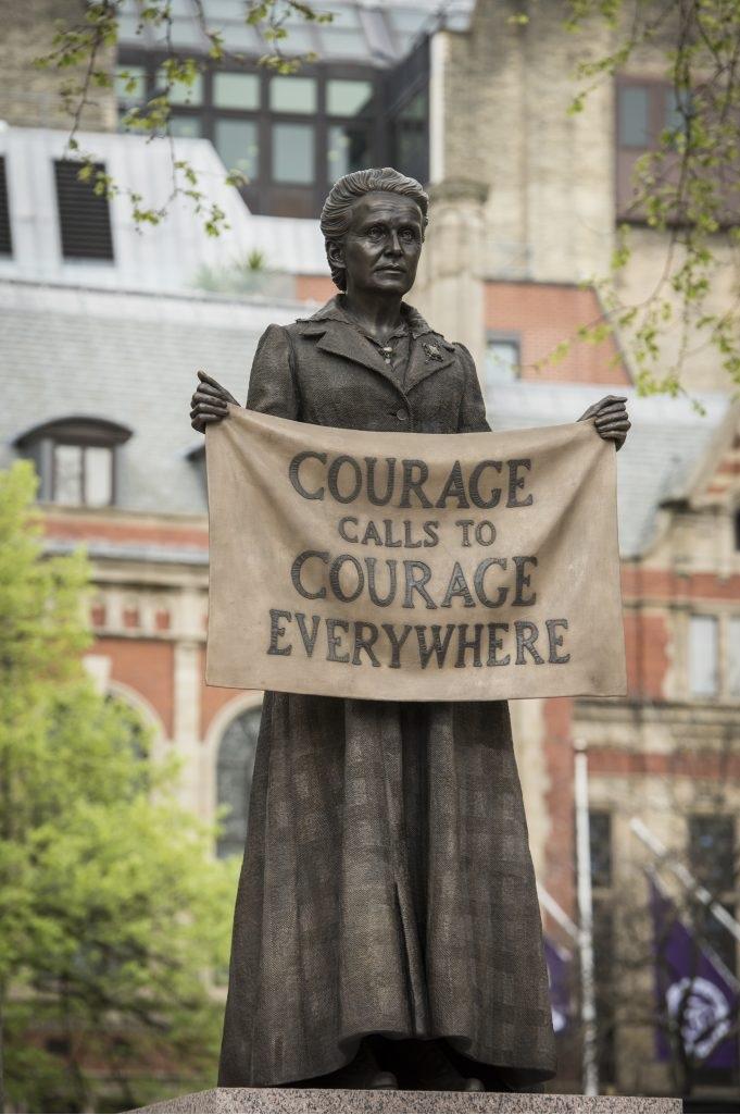 Dame Millicent Fawcett Statue