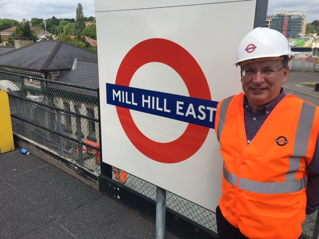 Mill Hill East lift
