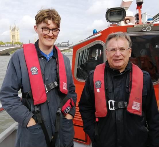 LFB Fire Boat visit October 2019