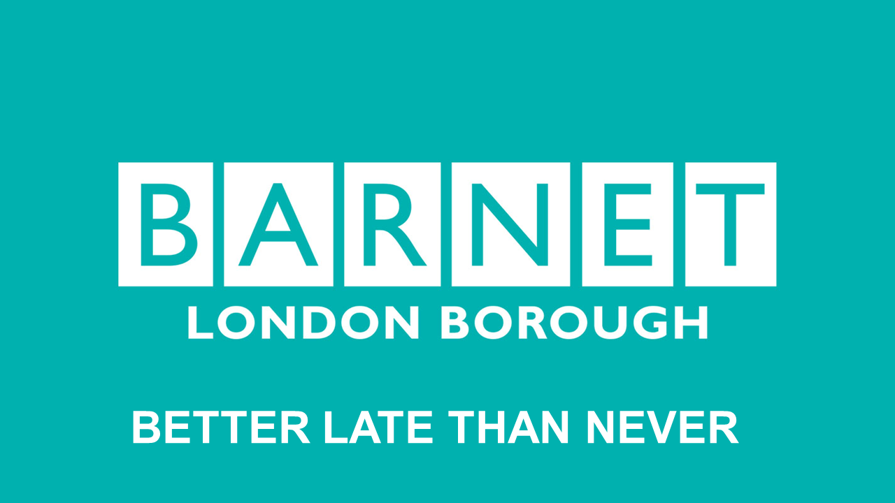 """Better late than never"" - is this to be Barnet's new motto?"